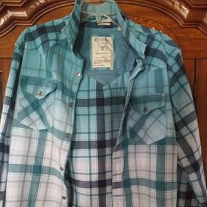 Guess Button down flannel